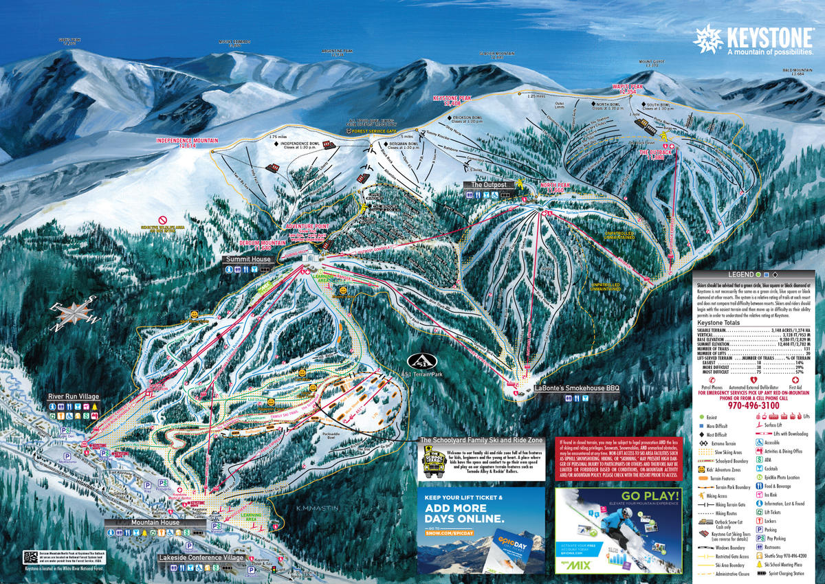 Keystone Resort Trail Map | SkiCentral.com on vail resort map, lake magdalene map, cheyenne crossing map, indiana limestone map, breckenridge map, copper mountain map, river's edge map, ski beech map, camano map, black hills map, the broadmoor map, weston county map, royal palm map, mount rushmore national memorial map, yellow creek map, christie mountain map, mount auburn map, thonotosassa map, crazy horse memorial map, alban hills map,