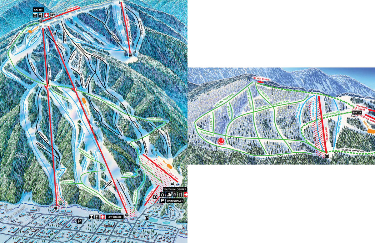 Red River Trail Map Skicentral Com