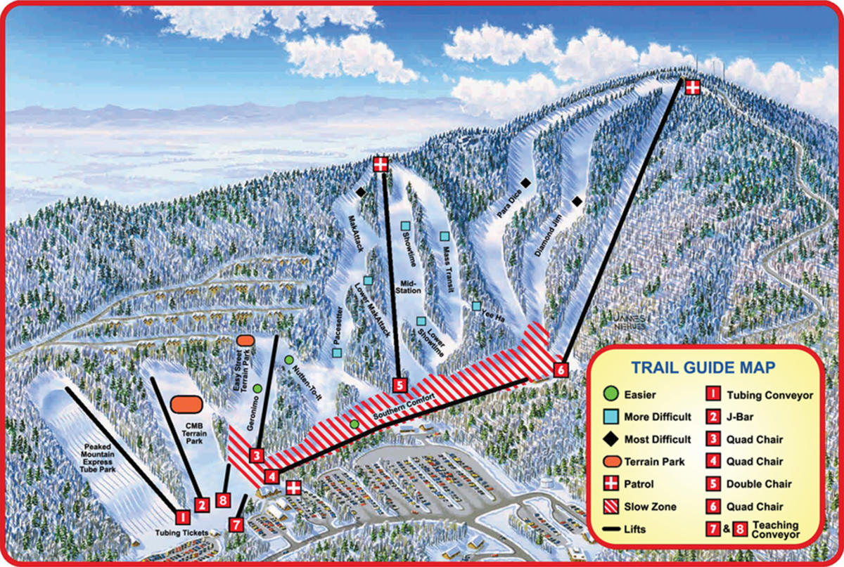 massanutten resort trail map | skicentral