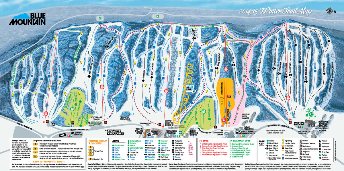 Boyne Mountain Map