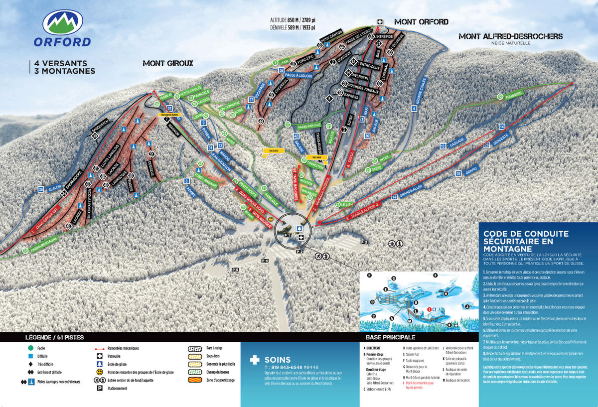 mont orford trail map | skicentral
