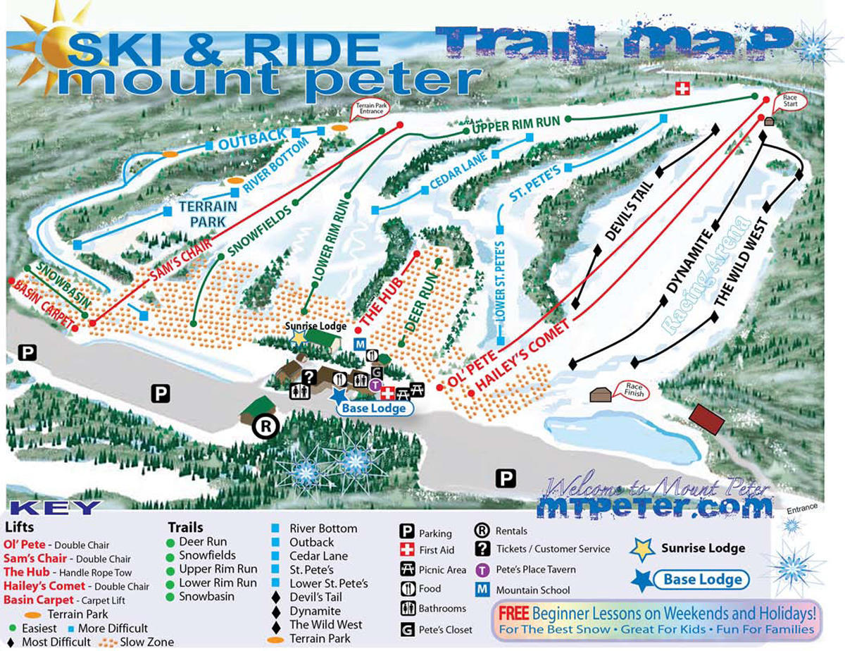 Deer creek lodges bottom region map